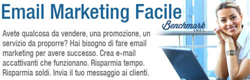 Email Marketing con Benchmark Email